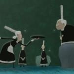 Блинный мультфильм «La migration bigoudenne»