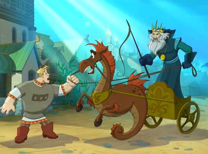 """""""Три богатыря и Морской царь"""" новый мультфильм от студии Мельница выходит на экраны 1 января 2017 года"""