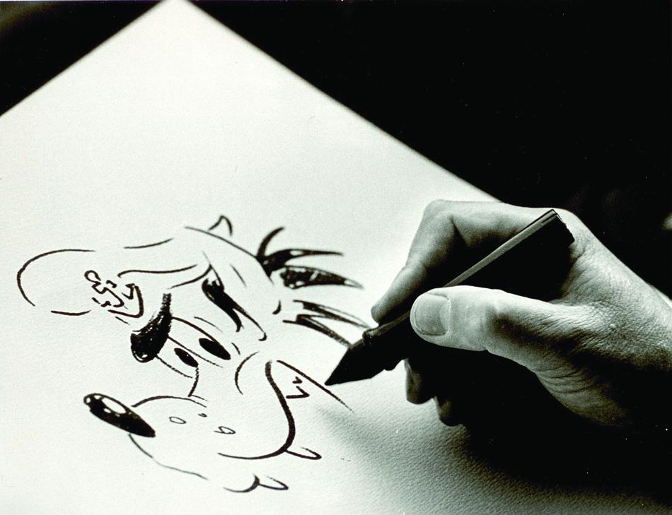 Рука художника Светозара Русакова. 1978 г.
