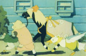 Сказка о глупом мышонке, реж. Михаил Цехановский, 1940 год