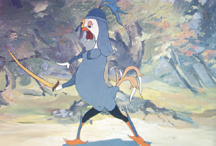 Золотой гребешок, реж. Владимир Муджири, 1947 год