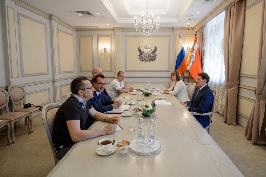 Встреча с Алексеем Гордеевым