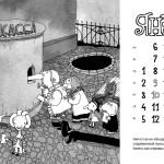 Иван Максимов создал календарь для «Золотой маски»