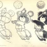Олимпиада на мультэкране: Миши Евгения Мигунова
